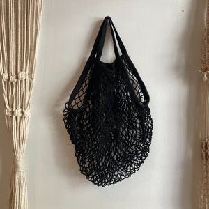 Hunter & Hare Mesh Bag Black