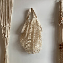 Hunter & Hare Mesh Bag Cream