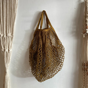 Hunter & Hare Mesh Bag Brown
