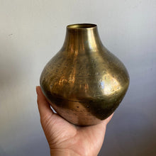Creative Co-Op Hammered Metal Vessel Medium