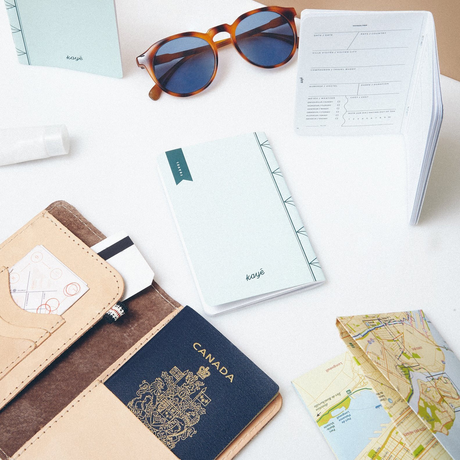 Kaye Notebook Travel Lifestyle