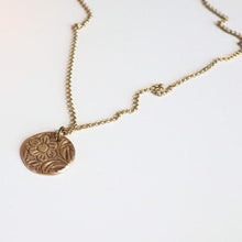 Souvenir Handmade - Large Coin Necklace