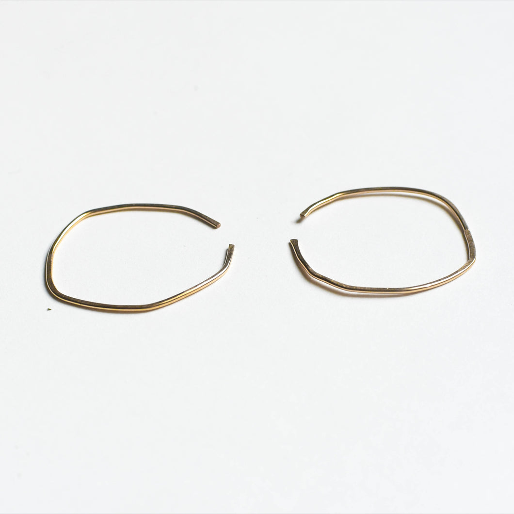 Souvenir Handmade - Large Circle Hoops