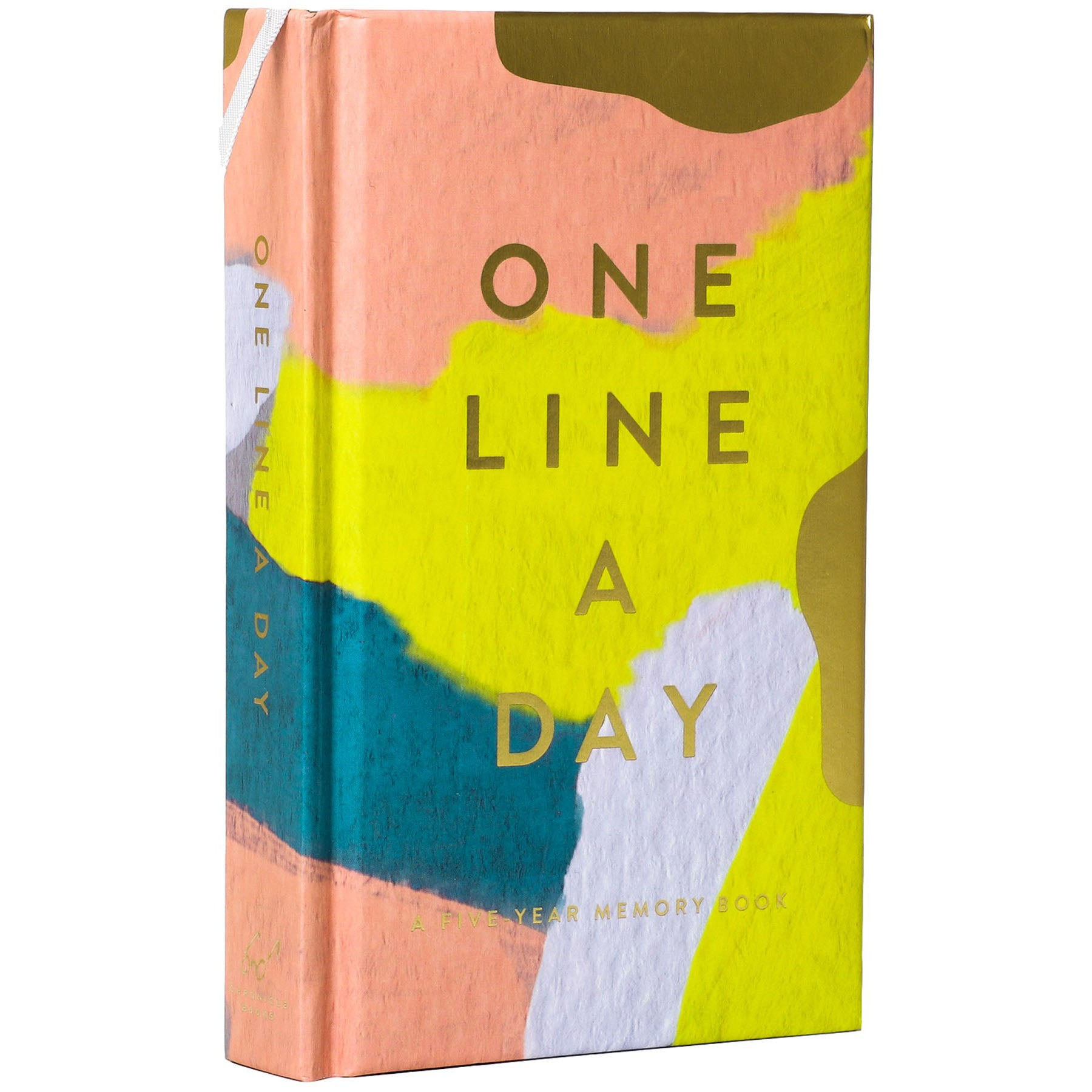 Modern One Line a Day Memory Book