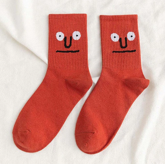 Rude to Stare Emotional Socks