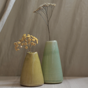 Pistachio Terracotta Vase (4 Sizes)