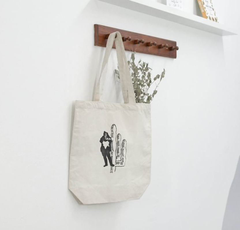 Lyndsey Illustrations Cactus Lady Tote Bag