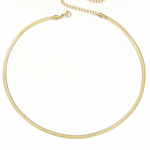 Golden Snake Chain Necklace