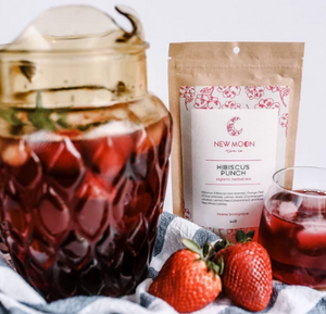 New Moon Tea Co. Hibiscus Punch