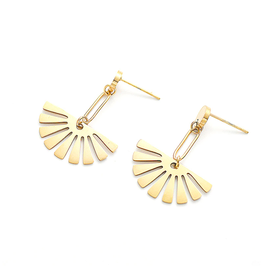Sunray Dangle Earrings