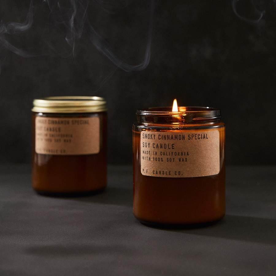 P.F. Candle Co. Smokey Cinnamon Special Soy Candle Lifestyle