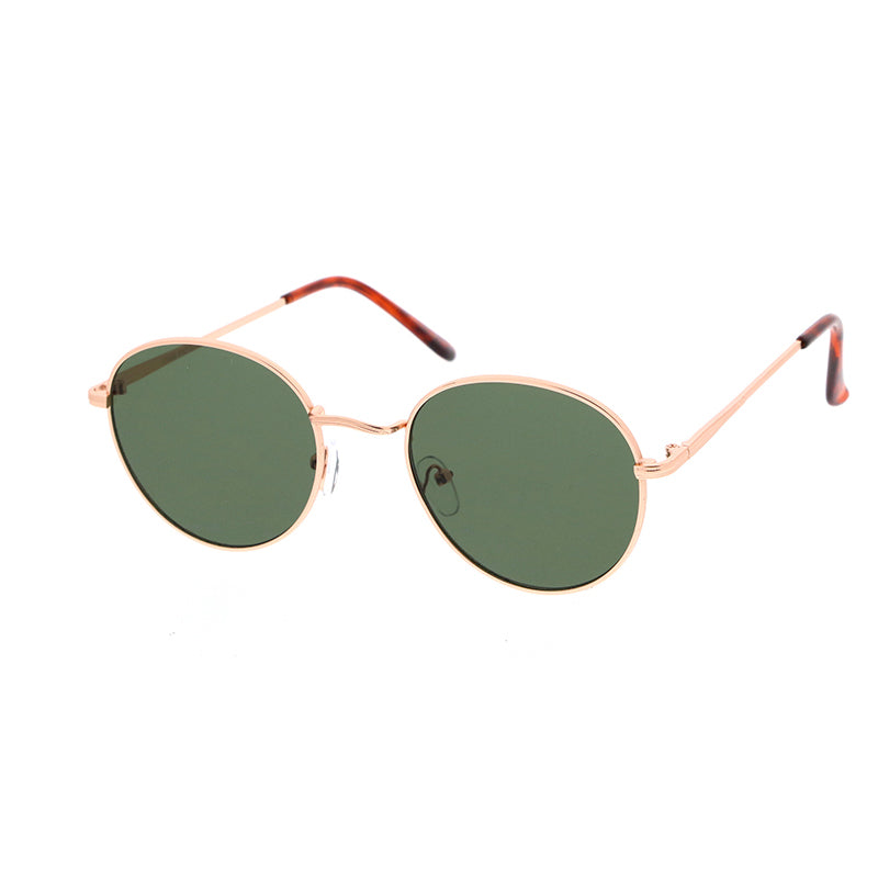 Mercury Sunglasses Berkley Gold Retro Green Lens