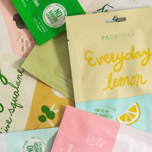 Facetory Everyday Face Sheet Mask Variety