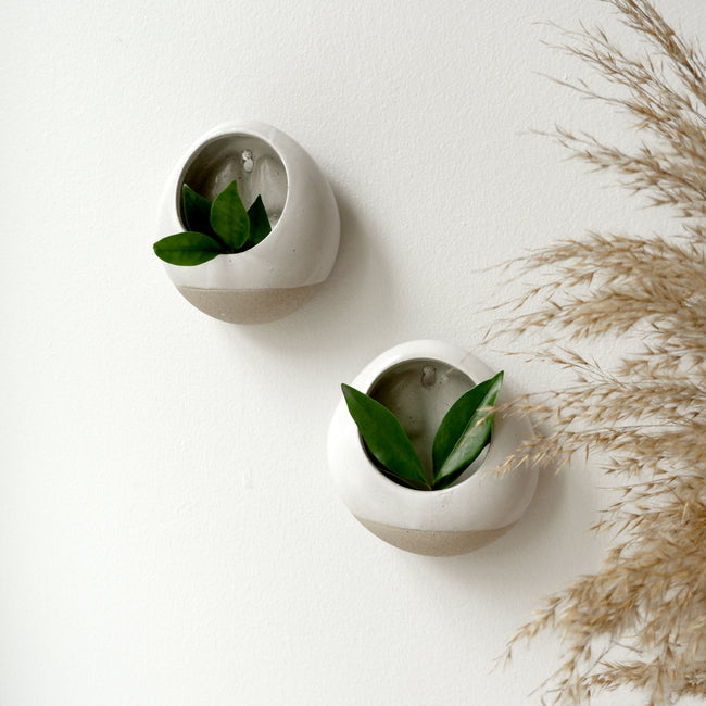 Ceramic Wall Pocket Planter