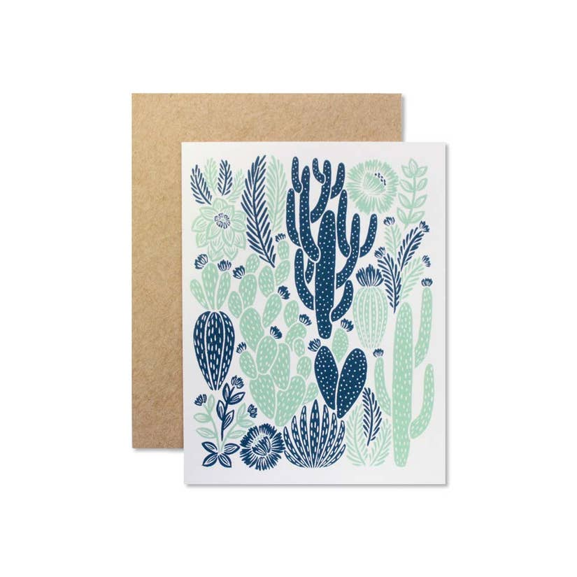 Wild Hart Paper Cactus Greeting Card