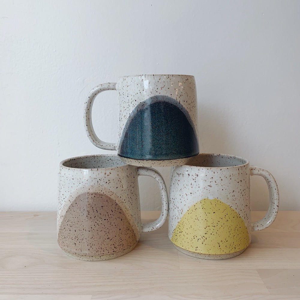Claymates Sunset Speckled Mug - 3 Colours