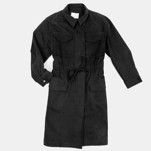 Oak + Fort Black Utility Coat