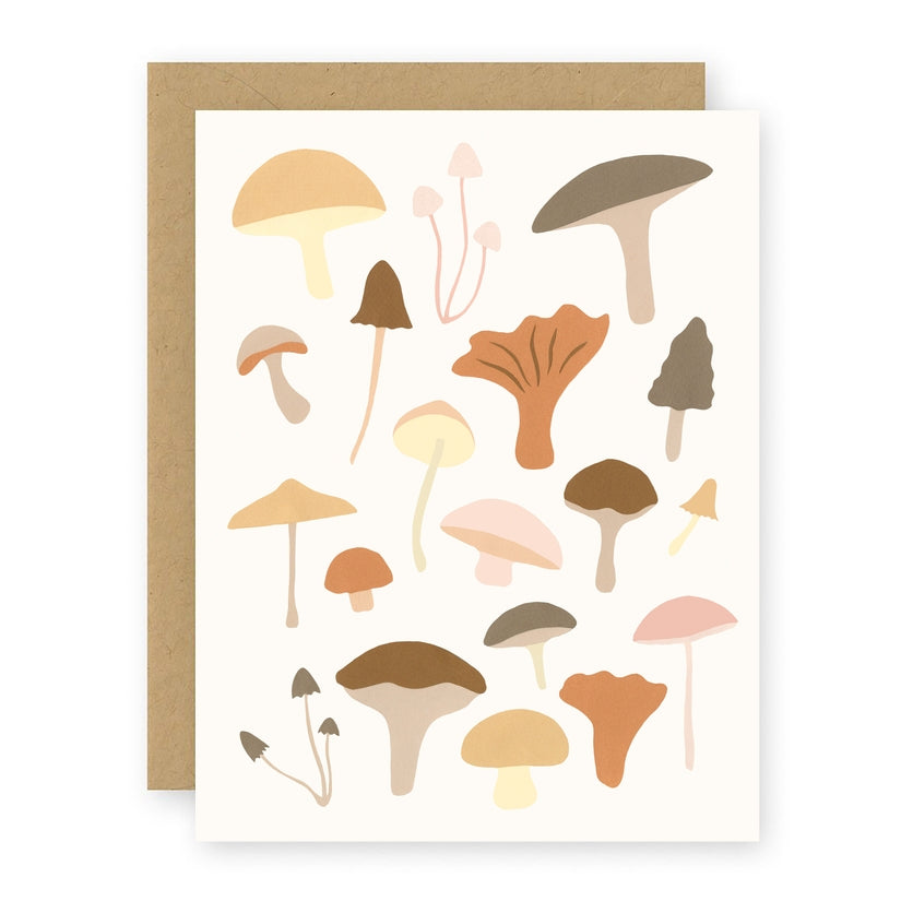Mushrooms Notecard