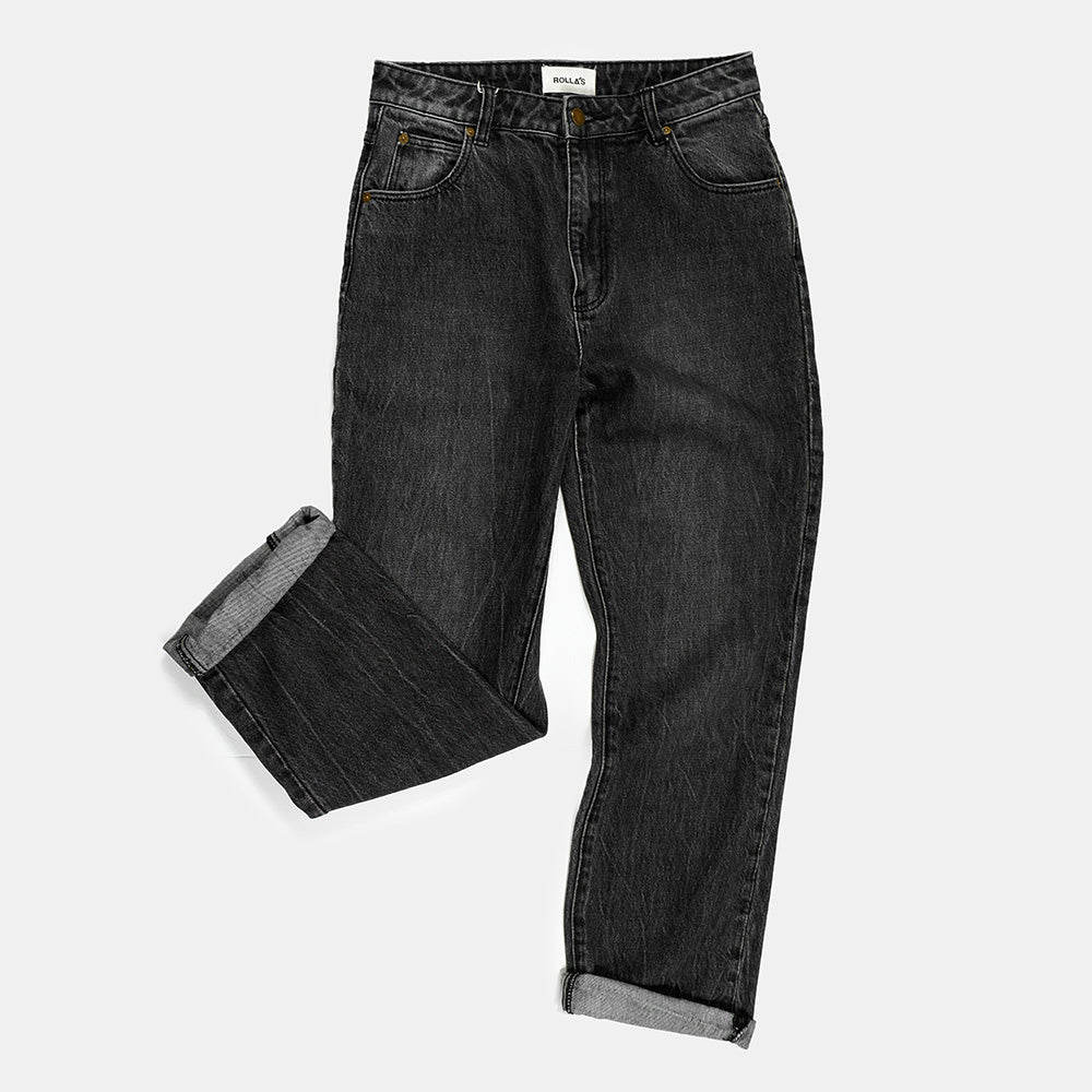 Rolla's - Original Cropped Straight Jeans