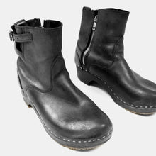 "Sandgrens Clogs - Black Clog ""New York Low"" Booties"