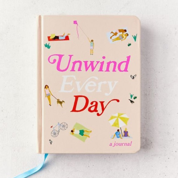 Unwind Every Day A Journal Cover