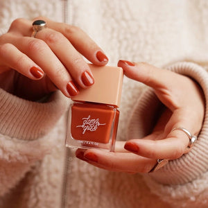 Glam & Grace The Classic Collection Nail Polish Ginger Model