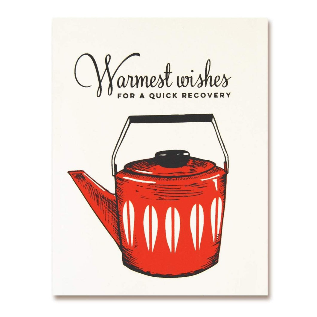 Warmest Wishes Recovery Greeting Card