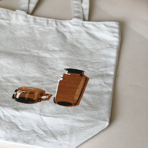 Lyndsey Illustrations Brown Vessel Tote Bag