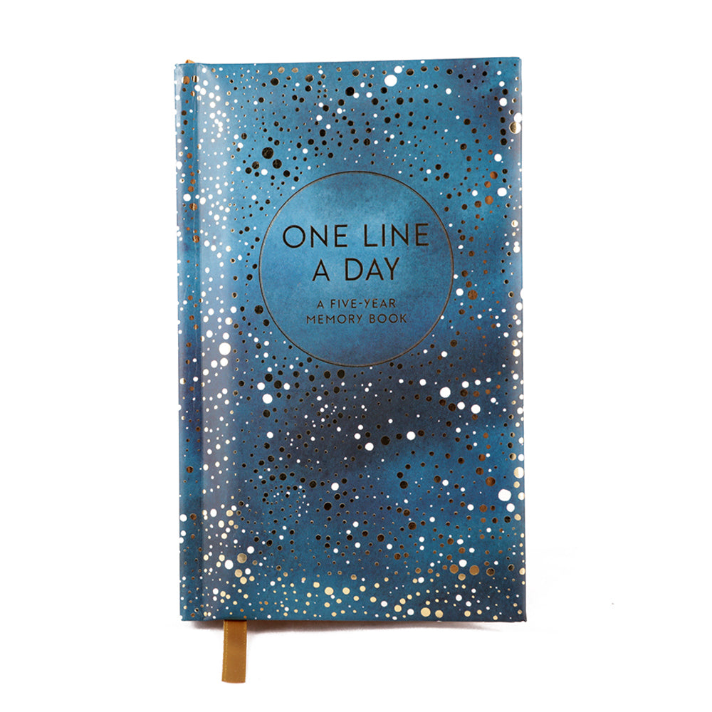 Raincoast Books Celestial One Line a Day Memory Book