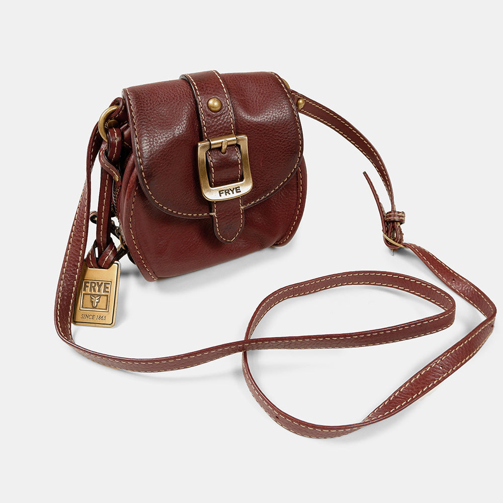 Oak + Fort - Brown Cinched Bucket Bag