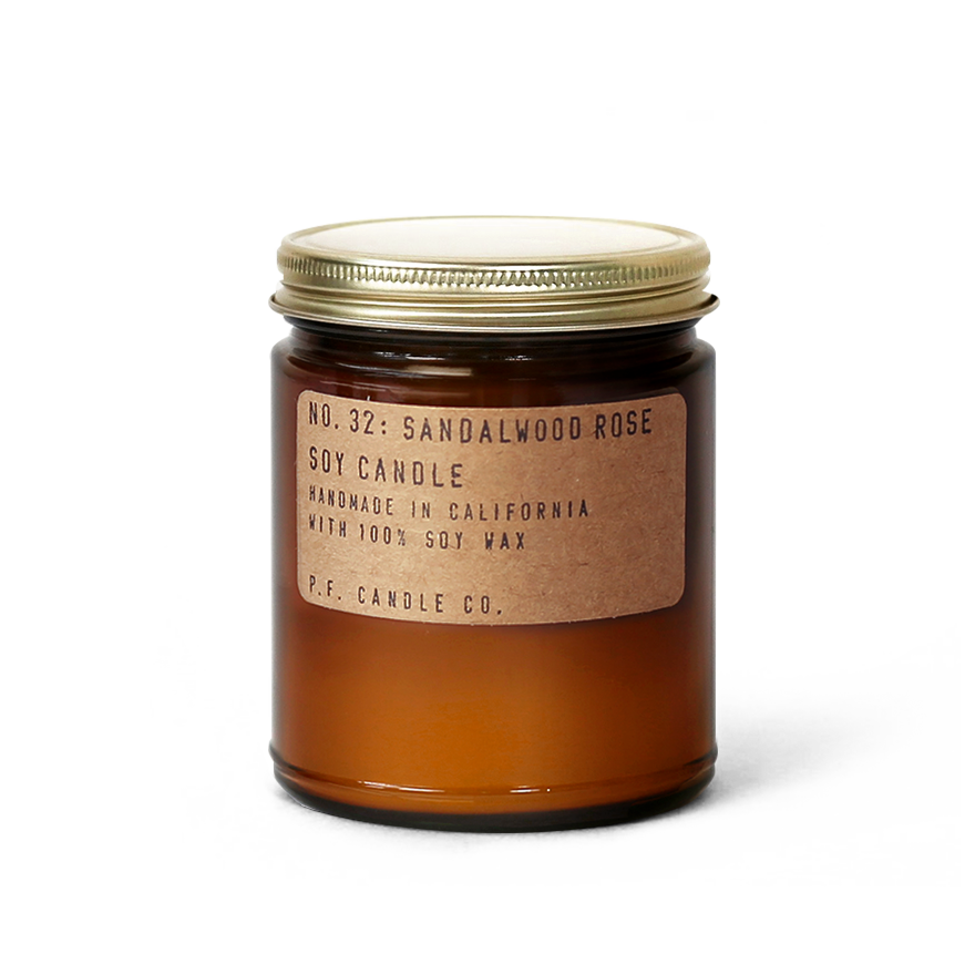 P.F. Candle Co. Sandalwood Rose Soy Candle