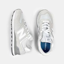 "New Balance - Grey ""Classic 574"" Suede Sneakers"