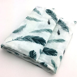 Beautiful Organic Muslin Receiving Blankets