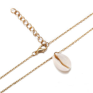 Shell Pendant Necklace // 2 Colors