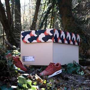 Sneakers Box - CAMO SUNSET