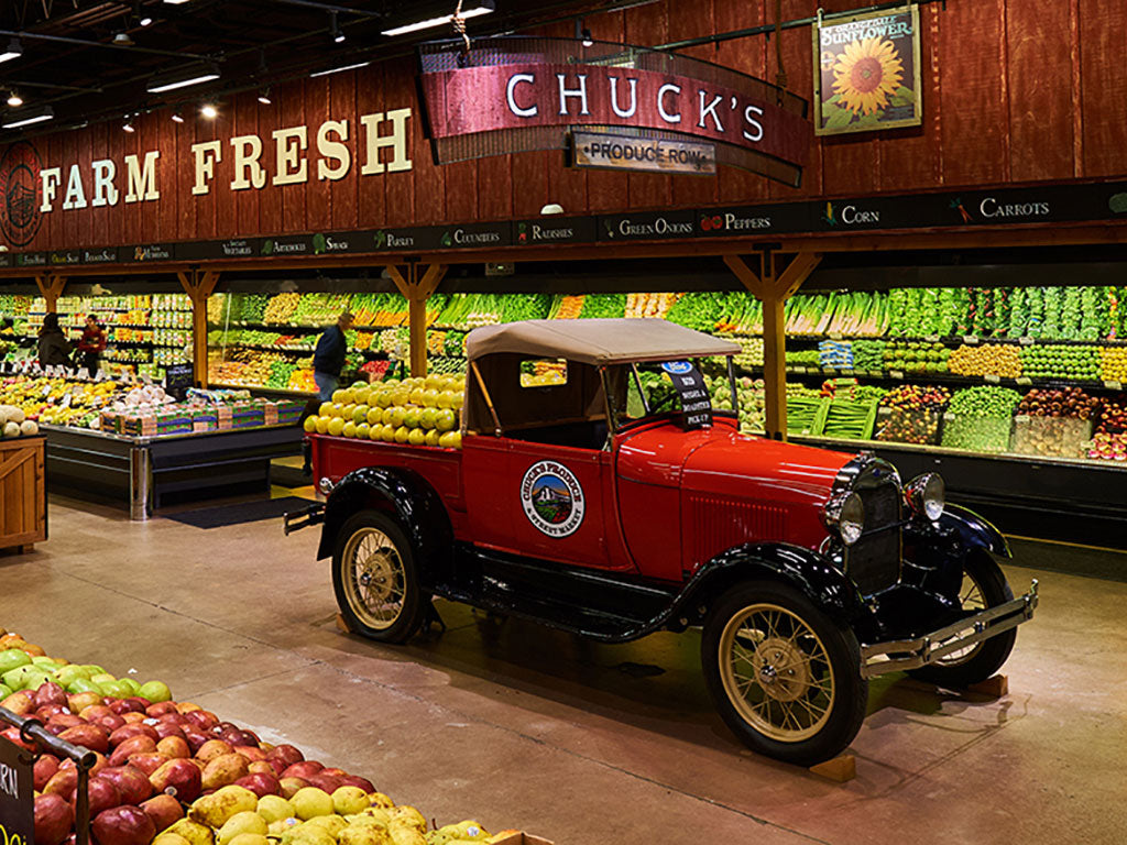 Interior of Chuck's Produce & Market, an Oregon Growers retailer