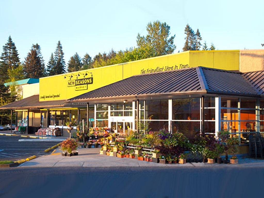 Exterior of New Seasons Market, an Oregon Growers retailer