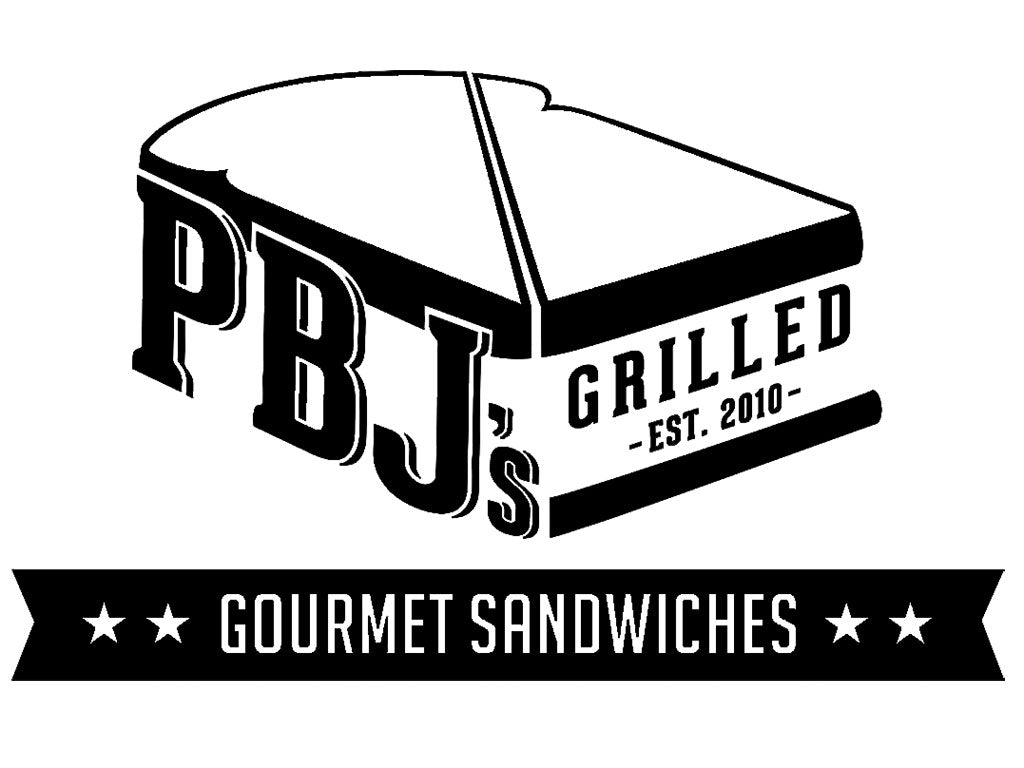 Logo for PBJ's Grilled Gourmet Peanut Butter Jelly Creations, an Oregon Growers customer