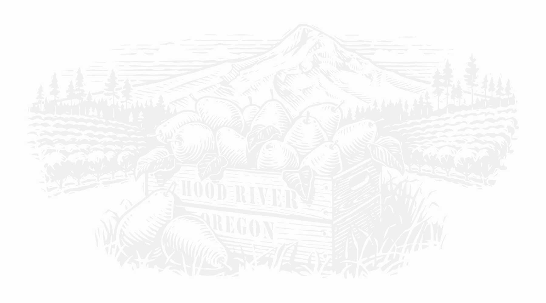 The Valley of Hood River is perfect for growing fruit
