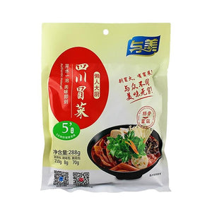与美四川冒菜豚骨菌菇288g(Fideo de arroz inst.picante 288g)