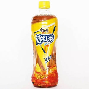 康师傅冰红茶500ml refresco de te rojo