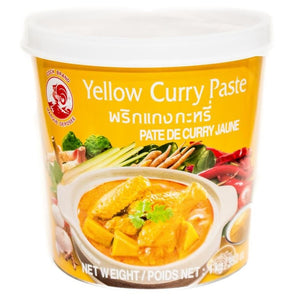 鸡标黄咖喱酱400g pasta de curry amarillo