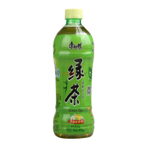 康师傅冰绿茶500ml refresco de te verde