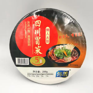 与美真四川冒菜浓香麻辣288g(Fideo de arroz inst picante 288g)