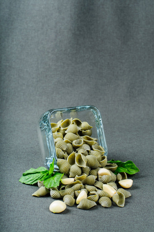 Basil Garlic Sea Shells