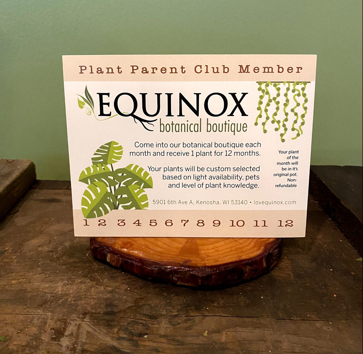 Plant Parent Club Membership