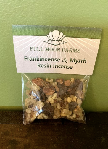 Frankincense & Myrrh Resin Incense