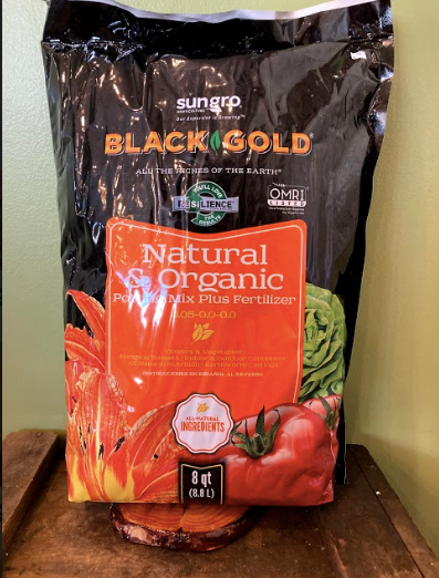 Sungro Natural & Organic Potting Mix Plus Fertilizer