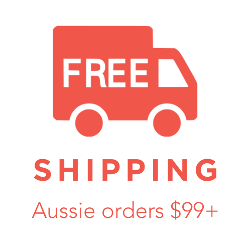free aussie shipping on orders over $99