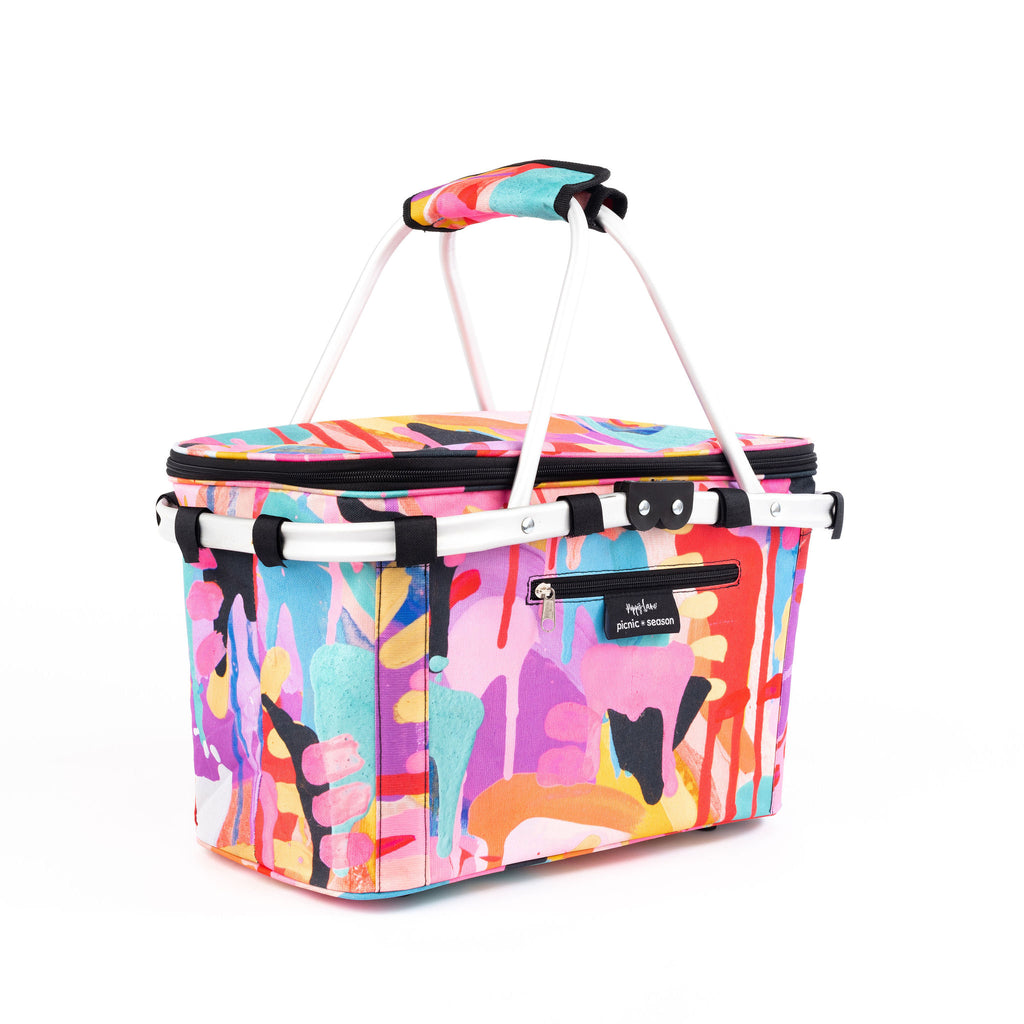 Picnic Season toucan really cool picnic basket